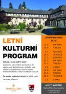Letní kulturní program 1
