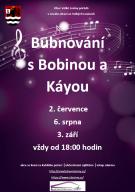 Bubnování s Bobinou&Káyou 1