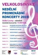 Velkolosinské nedělní promenádní koncerty 2019 1