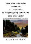 Výstava pana E. Veličky - ENKAUSTIKA 1